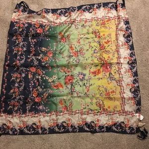 Johnny WAS SILK SCARF NEW/TAGS